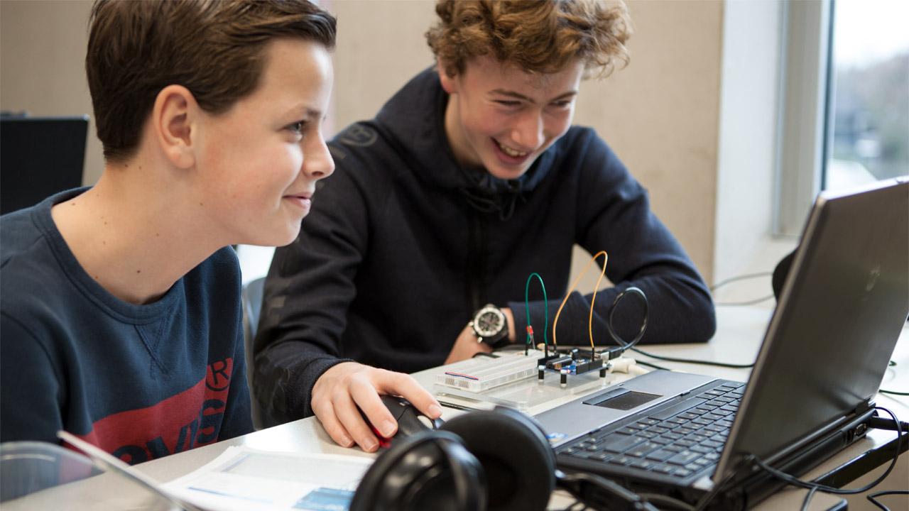 Arduino workshop smile Roosendaal