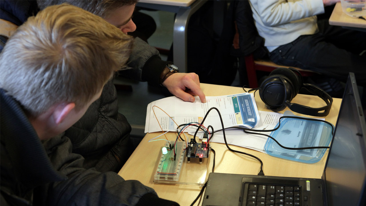 Arduino workshop programmeren Hoogeveen