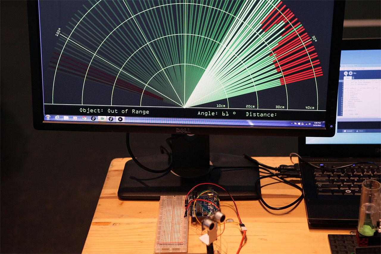 Groninger Researcher Night radar