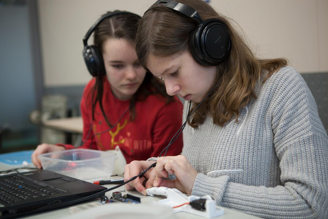 Inmoov workshop robot- TC Roosendaal 3