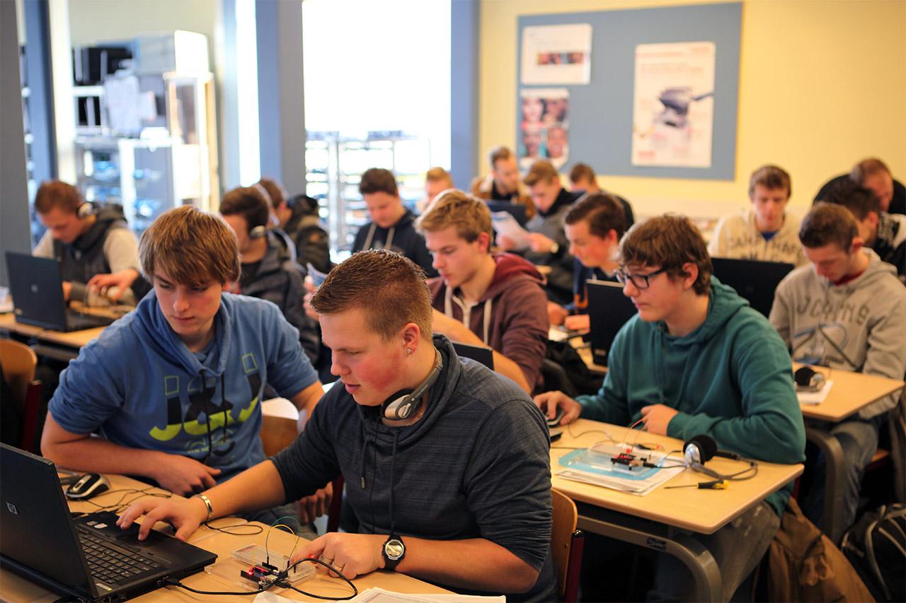arduino workshop alfa college hoogeveen