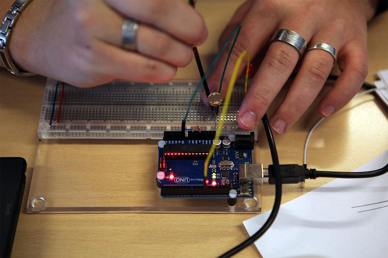 arduino workshop alfa college hoogeveen ldr